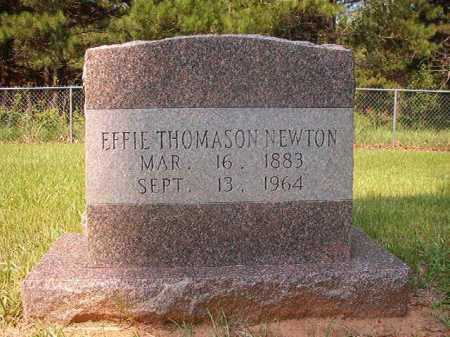 NEWTON, EFFIE - Calhoun County, Arkansas | EFFIE NEWTON - Arkansas Gravestone Photos