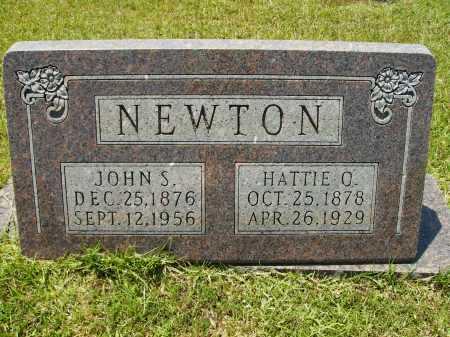 NEWTON, HATTIE O - Calhoun County, Arkansas | HATTIE O NEWTON - Arkansas Gravestone Photos