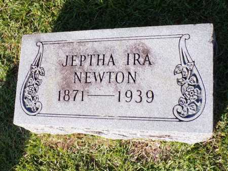 NEWTON, JEPTHA IRA - Calhoun County, Arkansas | JEPTHA IRA NEWTON - Arkansas Gravestone Photos