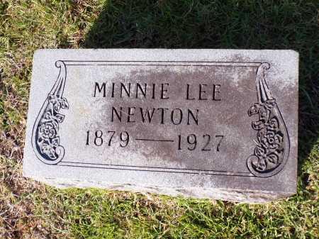 NEWTON, MINNIE LEE - Calhoun County, Arkansas   MINNIE LEE NEWTON - Arkansas Gravestone Photos
