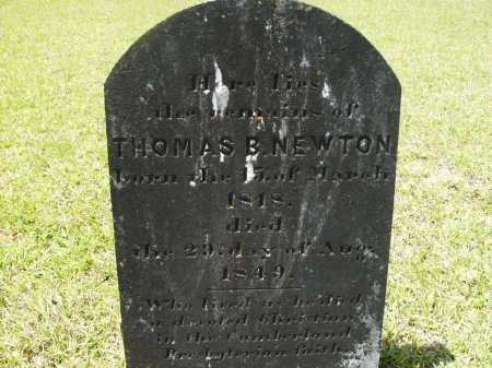 NEWTON, THOMAS B - Calhoun County, Arkansas | THOMAS B NEWTON - Arkansas Gravestone Photos
