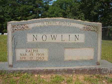 NOWLIN, RALPH - Calhoun County, Arkansas | RALPH NOWLIN - Arkansas Gravestone Photos