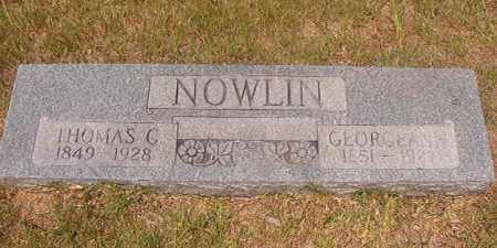 NOWLIN, THOMAS C - Calhoun County, Arkansas | THOMAS C NOWLIN - Arkansas Gravestone Photos