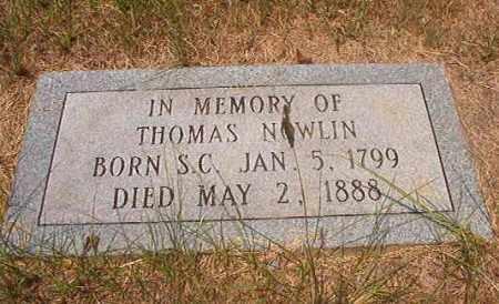 NOWLIN, THOMAS - Calhoun County, Arkansas   THOMAS NOWLIN - Arkansas Gravestone Photos