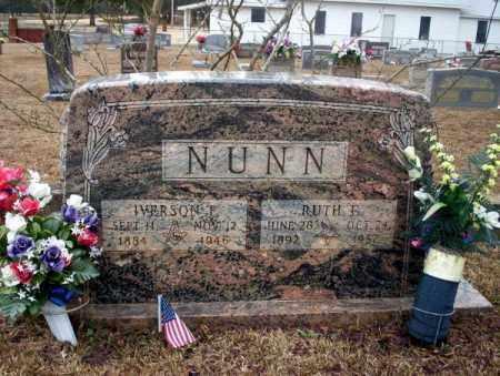 NUNN, RUTH C - Calhoun County, Arkansas   RUTH C NUNN - Arkansas Gravestone Photos