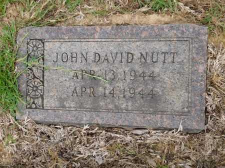 NUTT, JOHN DAVID - Calhoun County, Arkansas | JOHN DAVID NUTT - Arkansas Gravestone Photos