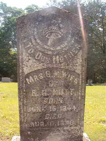NUTT, SUSAN M - Calhoun County, Arkansas | SUSAN M NUTT - Arkansas Gravestone Photos