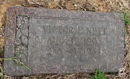 NUTT, VICTOR L - Calhoun County, Arkansas | VICTOR L NUTT - Arkansas Gravestone Photos