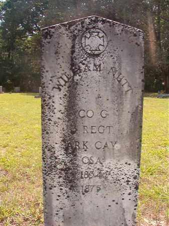 NUTT (VETERAN CSA), WILLIAM - Calhoun County, Arkansas   WILLIAM NUTT (VETERAN CSA) - Arkansas Gravestone Photos
