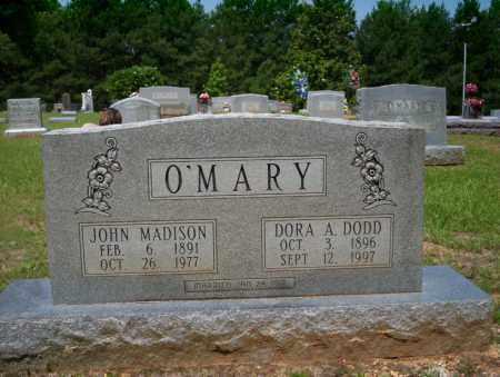 DODD O'MARY, DORA A - Calhoun County, Arkansas | DORA A DODD O'MARY - Arkansas Gravestone Photos