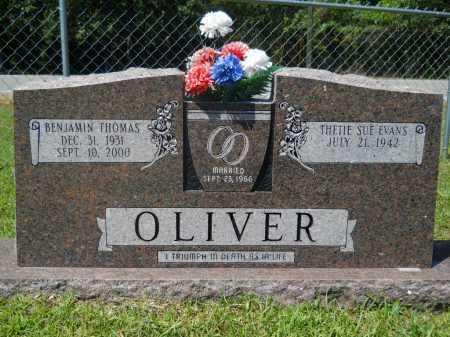 OLIVER, BENJAMIN THOMAS - Calhoun County, Arkansas   BENJAMIN THOMAS OLIVER - Arkansas Gravestone Photos