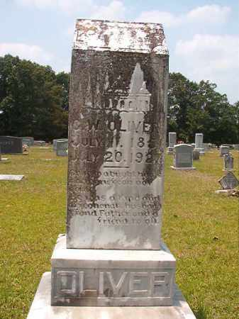 OLIVER, G W - Calhoun County, Arkansas   G W OLIVER - Arkansas Gravestone Photos