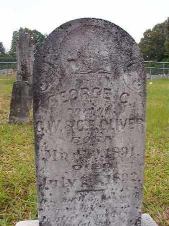 OLIVER, GEORGE C - Calhoun County, Arkansas | GEORGE C OLIVER - Arkansas Gravestone Photos
