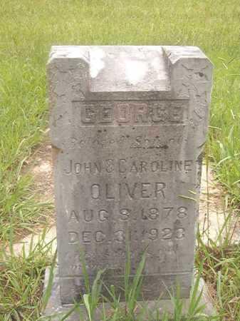 OLIVER, GEORGE - Calhoun County, Arkansas   GEORGE OLIVER - Arkansas Gravestone Photos