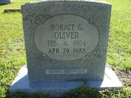 OLIVER, HORACE G - Calhoun County, Arkansas | HORACE G OLIVER - Arkansas Gravestone Photos
