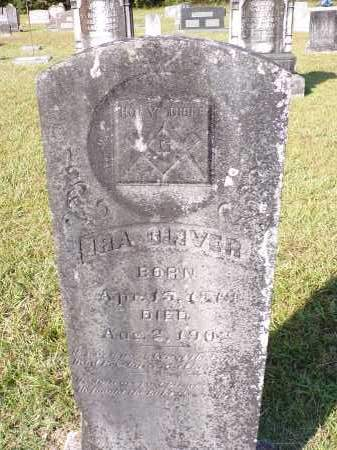 OLIVER, IRA - Calhoun County, Arkansas | IRA OLIVER - Arkansas Gravestone Photos