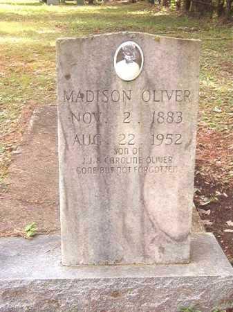 OLIVER, MADISON - Calhoun County, Arkansas | MADISON OLIVER - Arkansas Gravestone Photos
