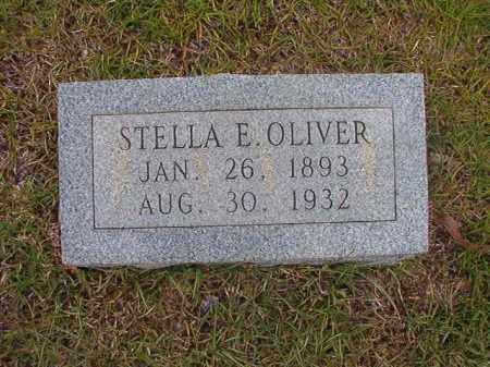 OLIVER, STELLA E - Calhoun County, Arkansas | STELLA E OLIVER - Arkansas Gravestone Photos