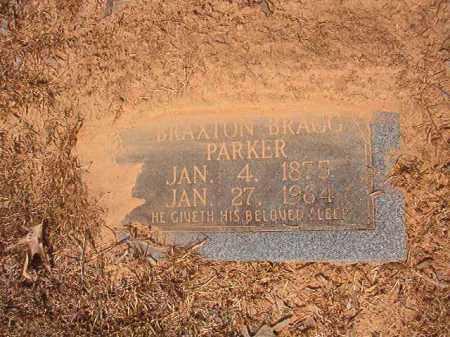 PARKER, BRAXTON BRAGG - Calhoun County, Arkansas   BRAXTON BRAGG PARKER - Arkansas Gravestone Photos