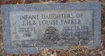 PARKER, INFANT TWIN DAUGHTER - Calhoun County, Arkansas | INFANT TWIN DAUGHTER PARKER - Arkansas Gravestone Photos