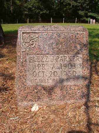 PARKER, PLEZZ J - Calhoun County, Arkansas | PLEZZ J PARKER - Arkansas Gravestone Photos