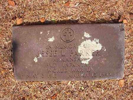 PARKER (VETERAN WWII), JESSE L - Calhoun County, Arkansas   JESSE L PARKER (VETERAN WWII) - Arkansas Gravestone Photos