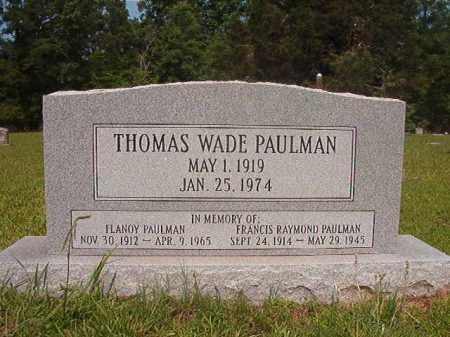 PAULMAN, FLANOY - Calhoun County, Arkansas | FLANOY PAULMAN - Arkansas Gravestone Photos