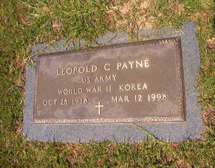 PAYNE (VETERAN 2 WARS), LEOPOLD C - Calhoun County, Arkansas | LEOPOLD C PAYNE (VETERAN 2 WARS) - Arkansas Gravestone Photos