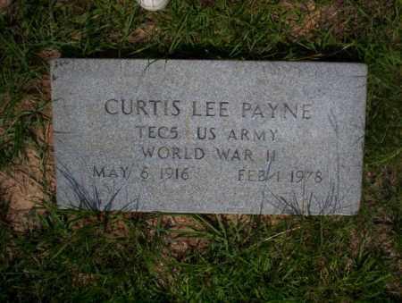 PAYNE (VETERAN WWII), CURTIS LEE - Calhoun County, Arkansas | CURTIS LEE PAYNE (VETERAN WWII) - Arkansas Gravestone Photos