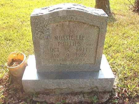 PHILLIPS, MOSSIE LEE - Calhoun County, Arkansas   MOSSIE LEE PHILLIPS - Arkansas Gravestone Photos