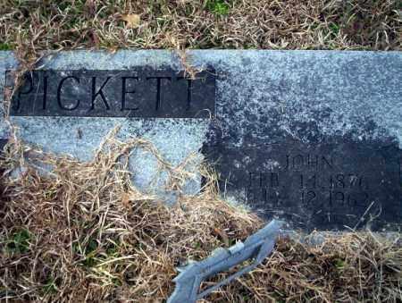 PICKETT, JOHN - Calhoun County, Arkansas | JOHN PICKETT - Arkansas Gravestone Photos