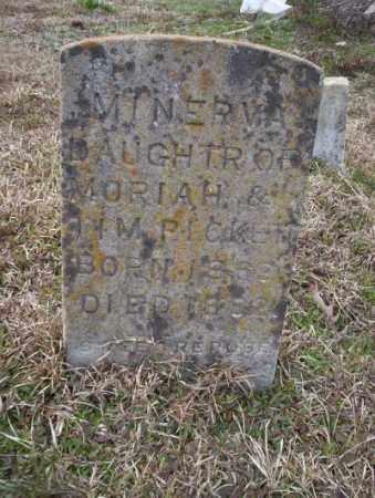 PICKETT, MINERVA - Calhoun County, Arkansas   MINERVA PICKETT - Arkansas Gravestone Photos