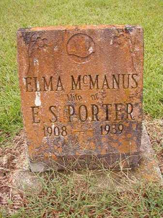 PORTER, ELMA - Calhoun County, Arkansas | ELMA PORTER - Arkansas Gravestone Photos