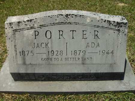 PORTER, JACK - Calhoun County, Arkansas | JACK PORTER - Arkansas Gravestone Photos