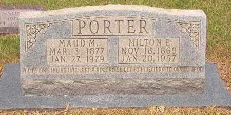 PORTER, MAUD MARTHA - Calhoun County, Arkansas   MAUD MARTHA PORTER - Arkansas Gravestone Photos