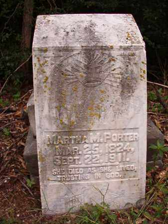 PORTER, MARTHA M - Calhoun County, Arkansas   MARTHA M PORTER - Arkansas Gravestone Photos
