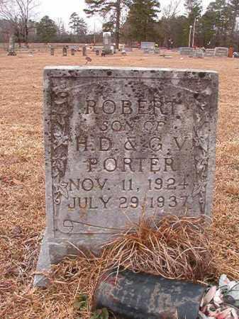 PORTER, ROBERT - Calhoun County, Arkansas | ROBERT PORTER - Arkansas Gravestone Photos