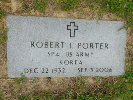 PORTER (VETERAN KOR), ROBERT L - Calhoun County, Arkansas | ROBERT L PORTER (VETERAN KOR) - Arkansas Gravestone Photos