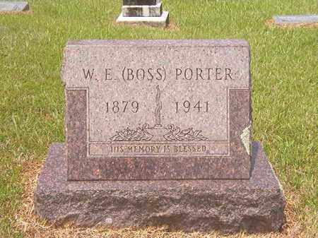 PORTER, WOODIE E (BOSS) - Calhoun County, Arkansas   WOODIE E (BOSS) PORTER - Arkansas Gravestone Photos