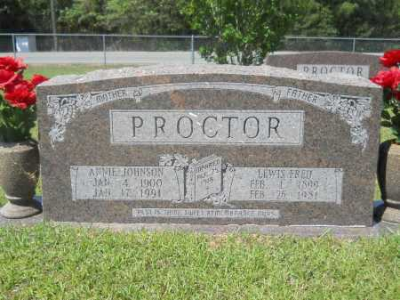 PROCTOR, LEWIS FRED - Calhoun County, Arkansas | LEWIS FRED PROCTOR - Arkansas Gravestone Photos
