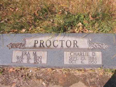 PROCTOR, ERA M - Calhoun County, Arkansas   ERA M PROCTOR - Arkansas Gravestone Photos