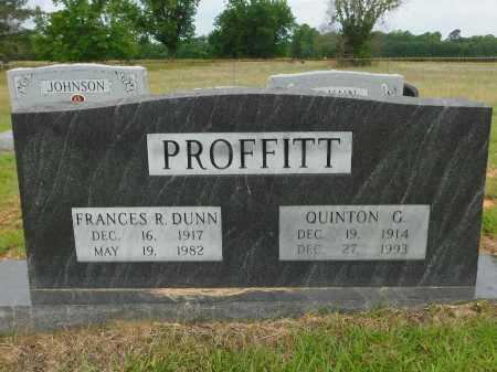 PROFFITT, FRANCES R - Calhoun County, Arkansas | FRANCES R PROFFITT - Arkansas Gravestone Photos