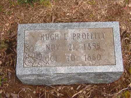 PROFFITT, HUGH L - Calhoun County, Arkansas | HUGH L PROFFITT - Arkansas Gravestone Photos