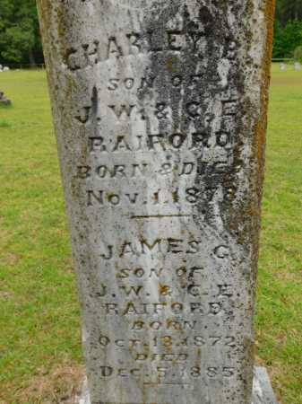 RAIFORD, CHARLEY B - Calhoun County, Arkansas | CHARLEY B RAIFORD - Arkansas Gravestone Photos