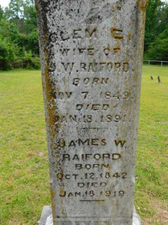 RAIFORD, CLEM E - Calhoun County, Arkansas | CLEM E RAIFORD - Arkansas Gravestone Photos