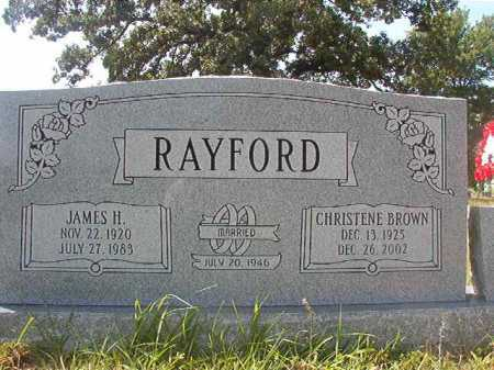 RAYFORD, JAMES HENRY - Calhoun County, Arkansas | JAMES HENRY RAYFORD - Arkansas Gravestone Photos