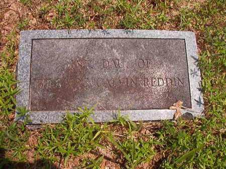 REDDIN, INFANT DAUGHTER - Calhoun County, Arkansas | INFANT DAUGHTER REDDIN - Arkansas Gravestone Photos