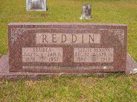 BENSON REDDIN, LIZZIE - Calhoun County, Arkansas | LIZZIE BENSON REDDIN - Arkansas Gravestone Photos