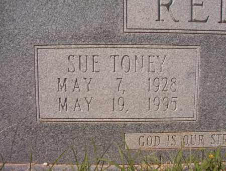 TONEY REDDIN, SUE - Calhoun County, Arkansas | SUE TONEY REDDIN - Arkansas Gravestone Photos