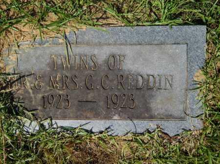 REDDIN, TWINS - Calhoun County, Arkansas | TWINS REDDIN - Arkansas Gravestone Photos